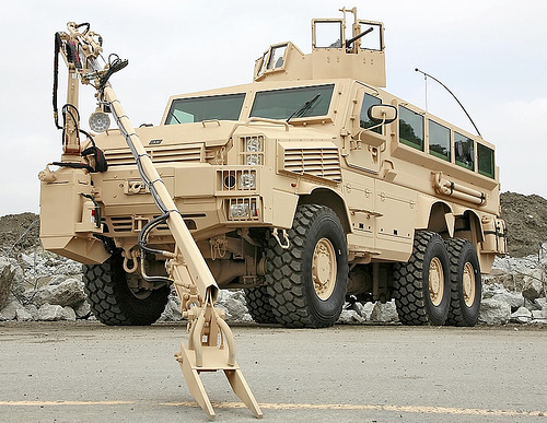 Awarded MRAP Carrier program